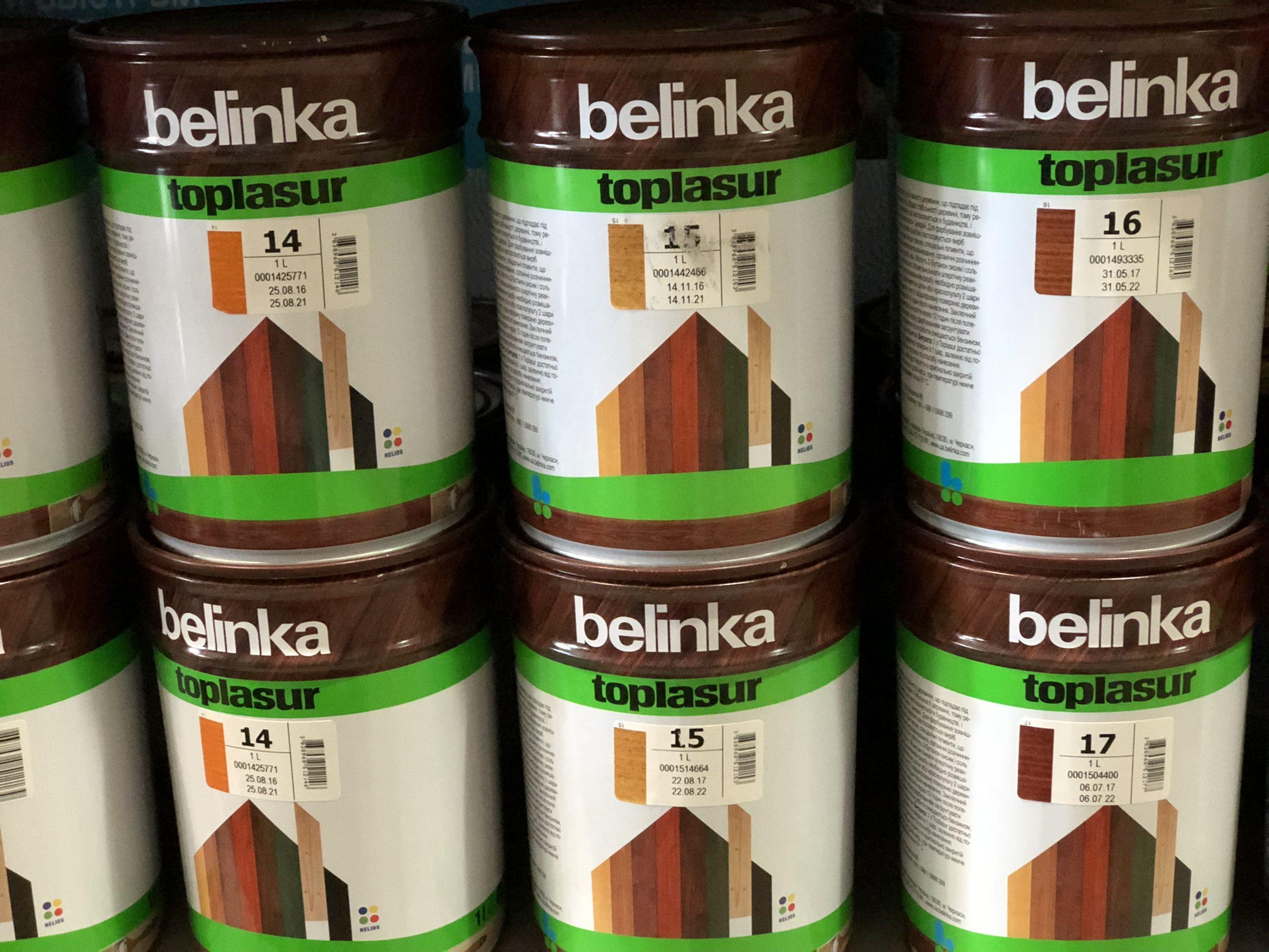 Краска для дерева Belinka: разновидности и их характеристики